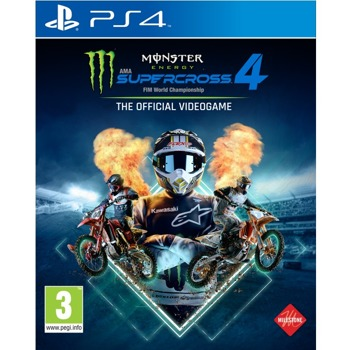 Monster Energy Supercross 4 PS4 product