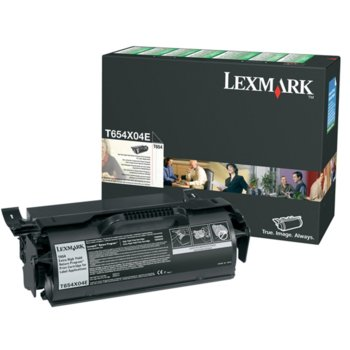 Lexmark (T654X04E) Black product