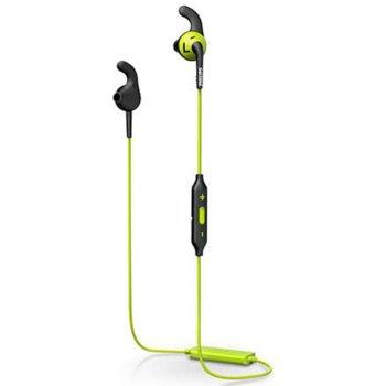 "Слушалки Philips SHQ6500CL ActionFit, спортни, микрофон, Bluetooth, тип ""тапи"", черни image"