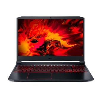 "Лаптоп Acer Nitro 5 AN515-55-775Q (NH.QB2EX.006), шестядрен Comet Lake Intel Core i7-10750H 2.6/5.0 GHz, 15.6"" (39.62 cm) Full HD IPS 144Hz Anti-Glare Display & GF RTX 3060 6GB, (HDMI), 8GB DDR4, 512GB SSD, 1x USB Type-C, Linux image"