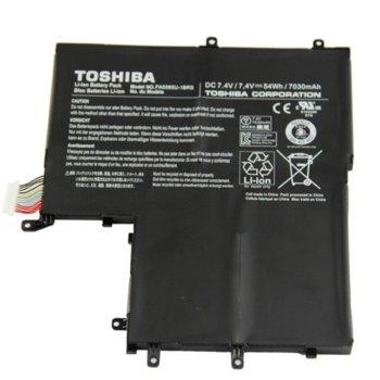Батерия (оригинална) за лаптоп Toshiba, съвместима с TOSHIBA Satellite U800W/U840W/U845/U845W, 7.4V, 7030mAh image