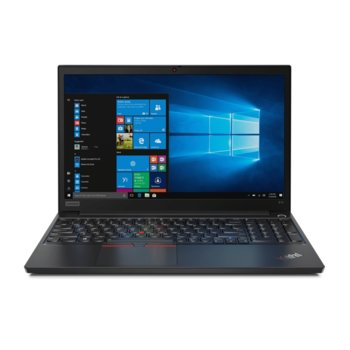 "Лаптоп Lenovo ThinkPad E15 (20RD005WBM_5WS0A23813), четириядрен Comet Lake Intel Core i7-10510U 1.8/4.9 GHz, 15.6"" (39.62 cm) Full HD IPS Anti-Glare Display, (HDMI), 8GB DDR4, 512GB SSD, 1x USB 3.1 Type-C, Free DOS image"