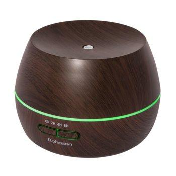 Овлажнител на въздух Rohnson R-9580, 10W, 300 ml. вместимост на резервоара, таймер, автоматично изключване, кафяв image