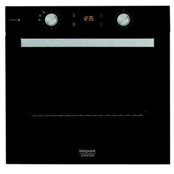 Вградена фурна Hotpoint-Ariston FA5S 841 JBLG HA, 71L, 3 програми за готвене на ПАРА(Хляб/Месо/Риба), черен image