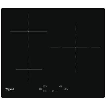 Вграден керамичен плот Whirlpool WS Q5760 NE, 3 нагревателни зони, черен image