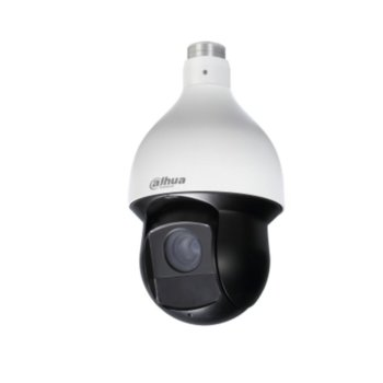 IP камера Dahua SD59225U-HNI, куполна, PTZ, 2 Mpix(1920x1080@50FPS) 25x увеличение, 4.8mm~120mm моторизиран обектив, H.265+/H.265/H.264+/H.264, IR осветеност (до 150 метра), PoE+, IP66 защита от вода, RJ-45, 1/1 channel In/Out image