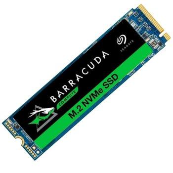 Памет SSD 250GB, Seagate BarraCuda 510 Series (ZP250CM3A001), PCIe NVMe, M.2 (2280), скорост на четене 3.100MB/s, скорост на запис 1200MB/s image
