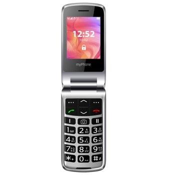 "GSM MyPhone Rumba 2 (черен), 2.4"" (6.10 cm) TFT дисплей, MediaTek MTK6261A, 64MB RAM, 128MB Flash памет (+microSD слот), 0.3 MPix камера, 70g image"
