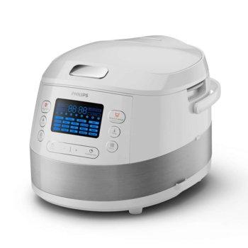 Мултифункционален уред за готвене Philips HD4731, 3D функция за нагряване, 5л, 1070W image