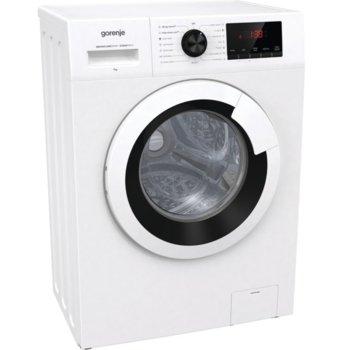Перална машина Gorenje WHP62ES, клас E, 6 кг. капацитет, 1200 оборота, 15 програми, свободностояща, 59.5 cm, SteamTech третиране с пара, TotalWeight разпознаване на теглото на прането, бяла image