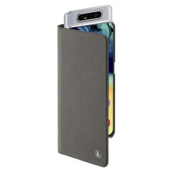 Калъф за Samsung Galaxy A80, полиуретан, Hама Slim Pro, сив image