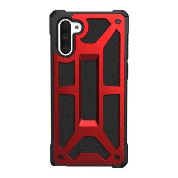 Калъф за Samsung Galaxy Note 10, хибриден, Urban Armor Monarch 211741119494, удароустойчив, червен image