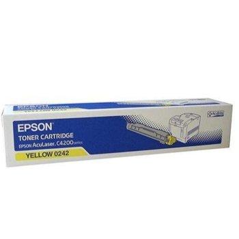 КАСЕТА ЗА EPSON AcuLazer C4200DN/DTN/DNPC5/DTNPC5/DNPC6 - Yellow - P№ C13S050242 - заб.: 8500k image