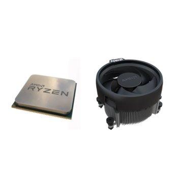 Процесор AMD Ryzen 3 3100, четириядрен (3.6/3.9GHz, 16 MB Cache, AM4) MPK, с охлаждане image