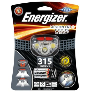 Челник Energizer Vision HD+ Focus 315 lumens product