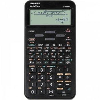 Калкулатор SHARP EL-506TS-WH, научен , дисплей Dot Matrix 16 разряден, съдържа над 420 научни функции, черен image