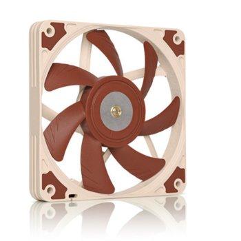 Вентилатор 120mm, Noctua 120x120x15mm, 4 pin, 1850 rmp, кафяв image