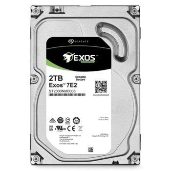 """Твърд диск 2TB Exos 7E2 (ST2000NM0008), SATA 6Gb/s, 7200rpm, 128MB Cache, 3.5"""" (8.89cm) image"""