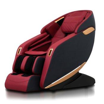 Масажен стол Rexton ZET100 (2020 г.), 3D масаж, инфрачервено затопляне, вградени тонколони, Bluetooth, червен image