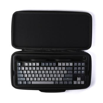 Kалъф за клавиатура Keychon K8 Plastic (K8-SLB), удароустойчив, пластмасов, черен image