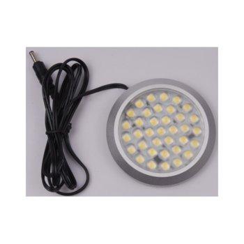 LED мебелно осв. тяло, ORAX LBLD90236X06CW, 3W, DC 12V, Студено бяла image