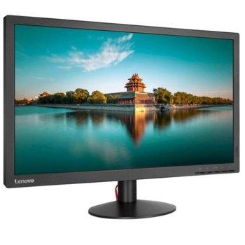 """Монитор Lenovo ThinkVision T2224d (61B1JAT1EU), 21.5"""" (54.61 cm) IPS панел, Full HD, 7ms, 3000:1, 250 cd/m2, VGA, DisplayPort image"""