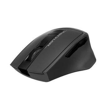 Мишка A4Tech FG30, оптична (2000dpi), безжична, USB, сива image
