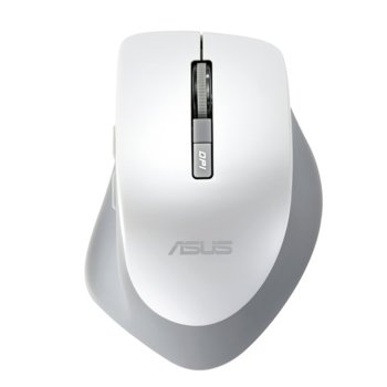 Мишка Asus WT425, оптична (1000 dpi), безжична (1600 dpi), Wireless, бяла  image