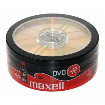 Оптичен носител DVD-R 4.7GB, MAXELL 16x, 25бр image