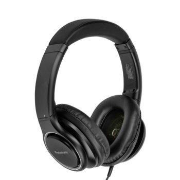 Слушалки Panasonic RP-HD6ME-K, микрофон, 3.5mm жак, черни image