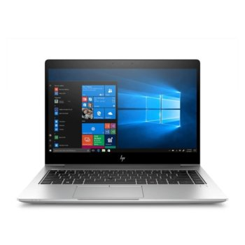 "Лаптоп HP EliteBook 840 G6 (4WG18AV_31323767_D9Y32AA) с подарък докинг станция HP, четириядрен Whiskey Lake Intel Core i7-8565U 1.8/4.6 GHz, 14.0"" (35.56 cm) Full HD Anti-Glare Display & Radeon 550X 2GB, (HDMI), 16GB DDR4, 512GB SSD, Windows 10 Pro image"