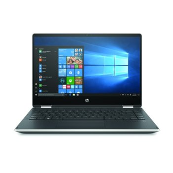 "Лаптоп HP Pavilion x360 14-dh1001nu (8NG17EA)(сребрист), четириядрен Comet Lake Intel Core i5-10210U 1.6/4.2 GHz, 14.0"" (35.56 cm) FHD IPS Touchscreen Display & GF MX130 2GB, (HDMI), 8GB DDR4, 512GB SSD, 1x USB 3.1 Type-C, Windows 10 Home image"