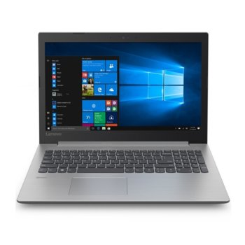 "Лаптоп Lenovo IdeaPad 330 (81D100EQRM)(сив), четириядрен Gemini Lake Intel Pentium N5000 1.1/2.7 GHz, 15.6"" (39.62 cm) HD Anti-Glare Display & Radeon 530 2GB, (HDMI), 4GB DDR4, 1TB HDD, 1x USB 3.0 Type-C, Free DOS image"