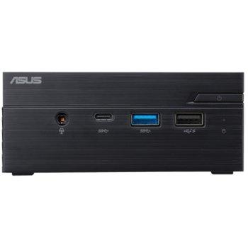 Настолен компютър Asus Mini PC (PN40-BBP335MC), четириядрен Gemini Lake Intel Pentium Silver J5005 Processor 1.50/2.80 GHz, DDR4, SATA III, USB-C 3.1 Gen 1, Free DOS image