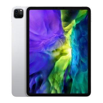 """Таблет Apple iPad Pro (2nd Generation)(MY252HC/A)(сребрист), 11"""" (27.94 cm) Liquid Retina дисплей, осемядрен Apple A12Z Bionic, 6GB RAM, 128GB Flash памет, 12.0 + 10.0 MPix & 7.0 MPix камера, iPad OS, 473g image"""