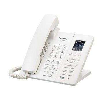 """Безжичен телефон Panasonic KX-TPА65, 1.8""""(4.57 cm) LCD цветен дисплей, бял image"""