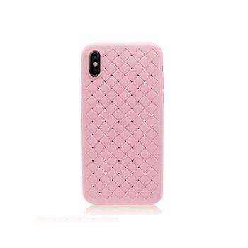 Калъф за iPhone X, протектор, термополиуретанов, Remax Tiragor, розов  image