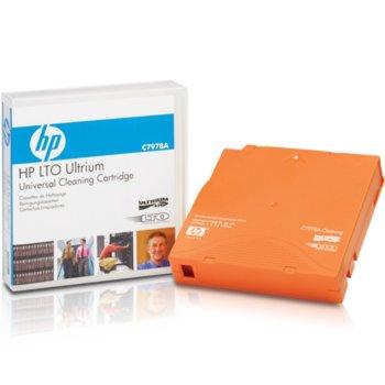 Почистваща касета HP LTO Ultrium Universal Cleaning Cartridge image