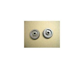 ЗЪБНО КОЛЕЛО -ДОЛНА РОЛКА (lower roller gear 26t) ЗА HP LJ P1005/P1006/1007/1008 - CB435 - 26T - P№ GR-P1008-26T - CE Неоригинален image