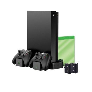 Вертикална станция за зареждане за Xbox One, Venom, с 2 батерии image