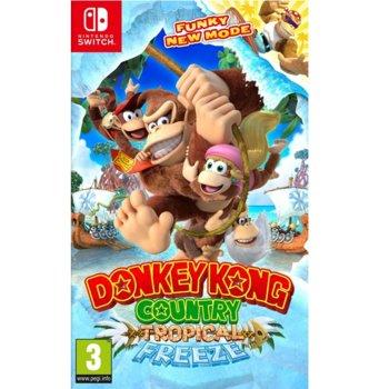 Игра за конзола Donkey Kong Country: Tropical Freeze, за Switch image