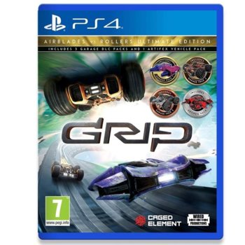Игра за конзола GRIP: Combat Racing - Airblades vs Rollers - Ultimate Edition, за PS4 image
