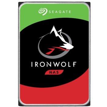"""Твърд диск 16TB Seagate IronWolf (ST16000VN001), SATA 6GB/s, 7200 rpm, 256MB, 3.5"""" (8.89 cm) image"""