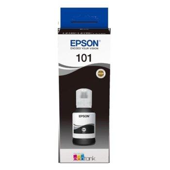Мастило за Epson L4150/L4160/L6160/L6170/L6190 WiFi MFP - Black - P№ C13T03V14A - 127ml - 7 500k image