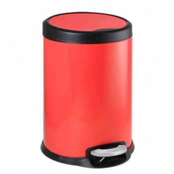 Кошче за отпадъци, 5L, червен image