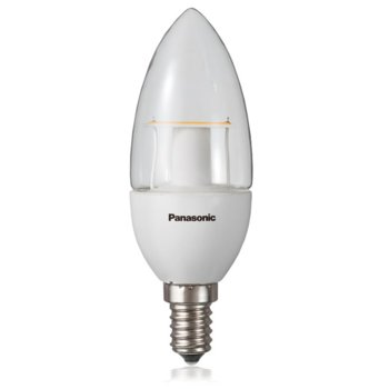 LED крушка Panasonic LDAHV5L27CGE14EP, E14, Candle, (5W), 330lm, 2700K image
