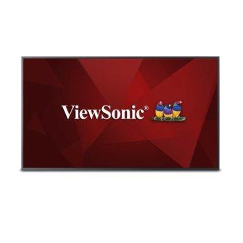"Дисплей ViewSonic CDE5010, 50"" (127 cm), Ultra HD, HDMI, VGA, DVI-D, RS232, USB image"