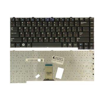 Клавиатура за лаптоп Samsung, съвместима със серия R58 R60 R70, US, UK, черна, с кирилица image
