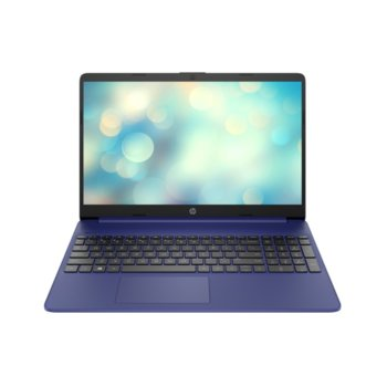 "Лаптоп HP 15s-eq1035nu (201P2EA)(син), двуядрен AMD Athlon Silver 3050U 2.3/3.2 GHz, 15.6"" (39.62 cm) Full HD Anti-Glare Display, (HDMI), 8GB DDR4, 256GB SSD, 1x USB 3.1 Type-C, No OS  image"