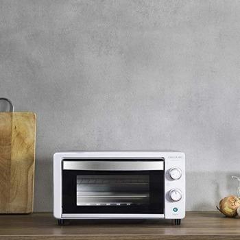 Мини фурна Cecotec Bake&Toast 490, 10 л. обем на фурната, 1000 W, 60-минутен таймер, бял image